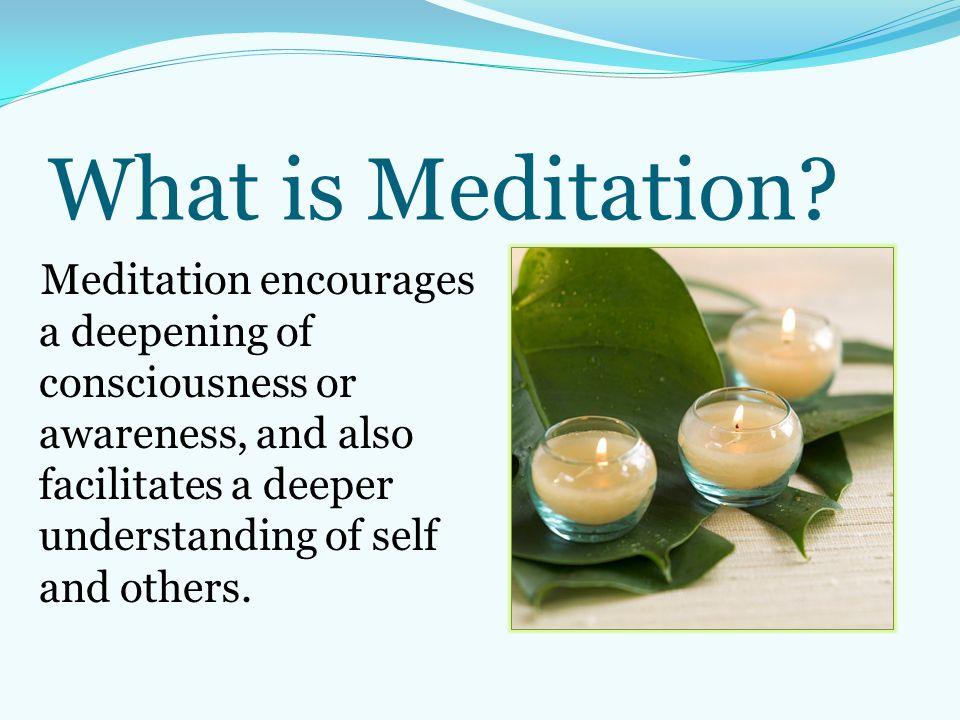 What is Meditation.
