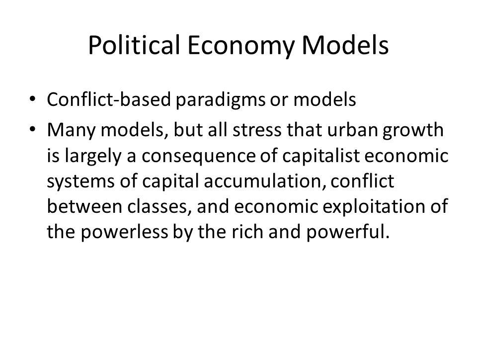 Political Economy Models