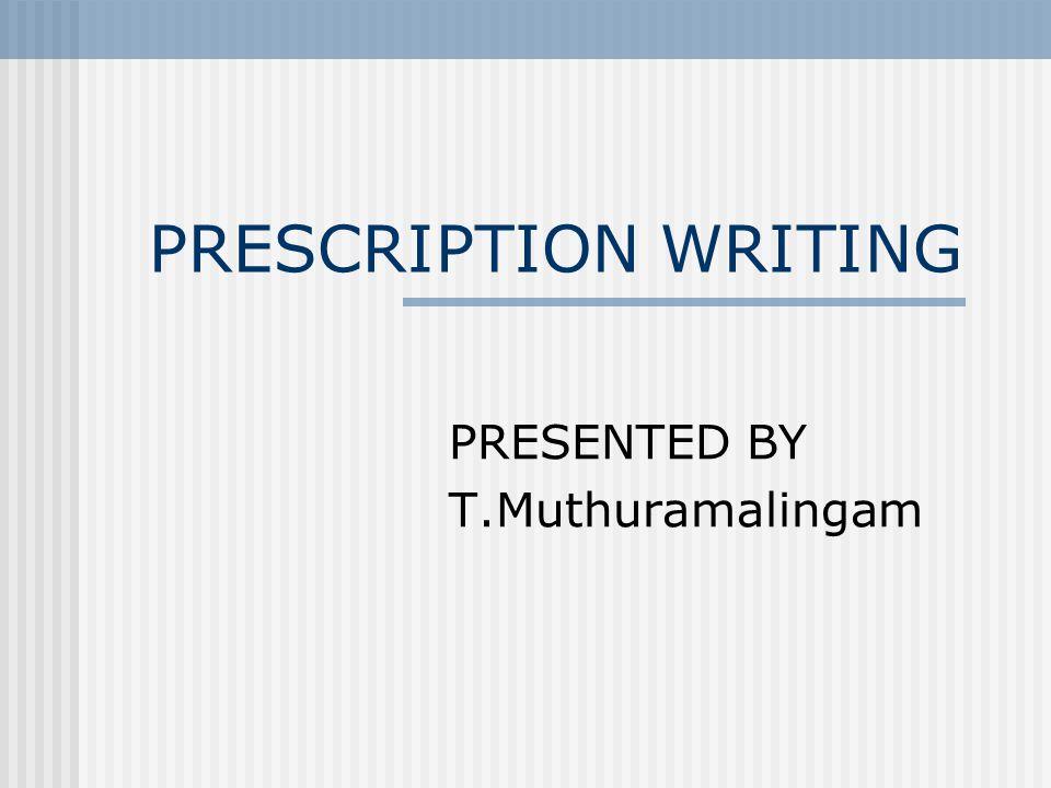PRESENTED BY T.Muthuramalingam
