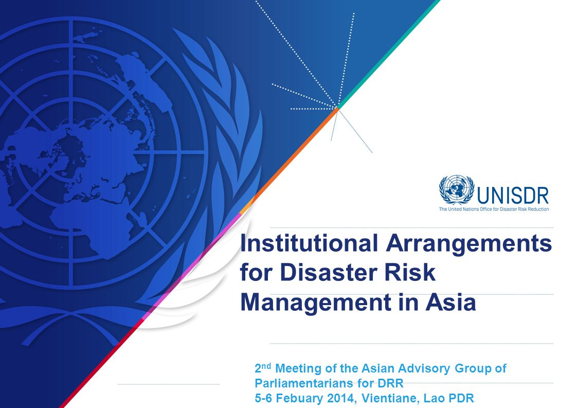 Institutional Arrangements for Disaster Risk Management in Asia