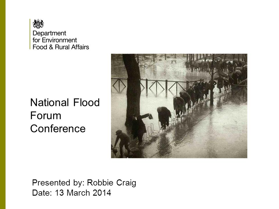 National Flood Forum Conference