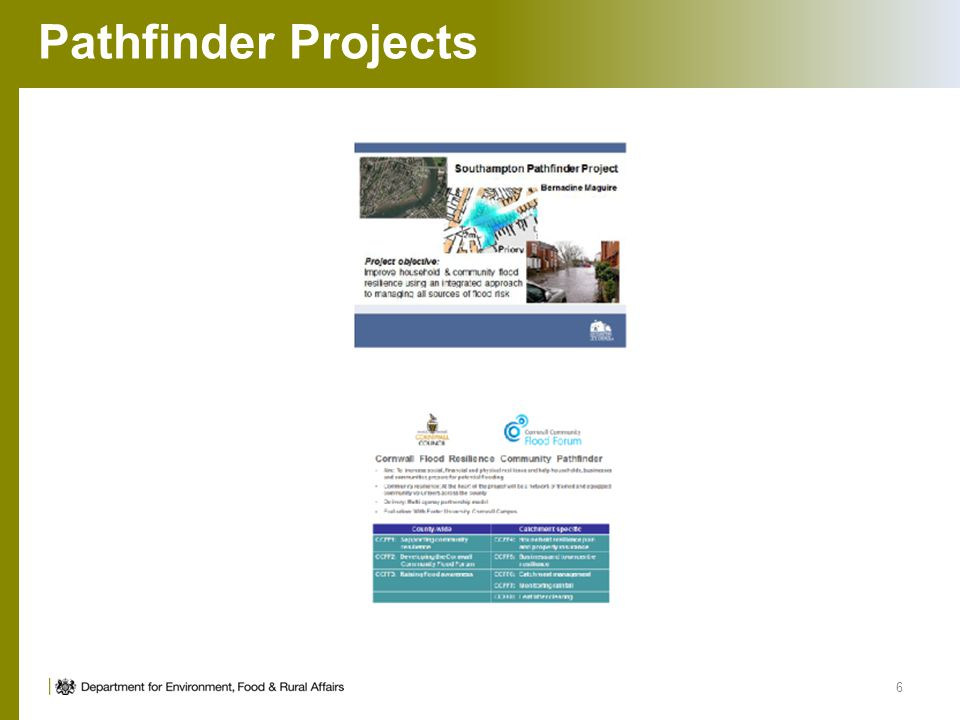 Pathfinder Projects