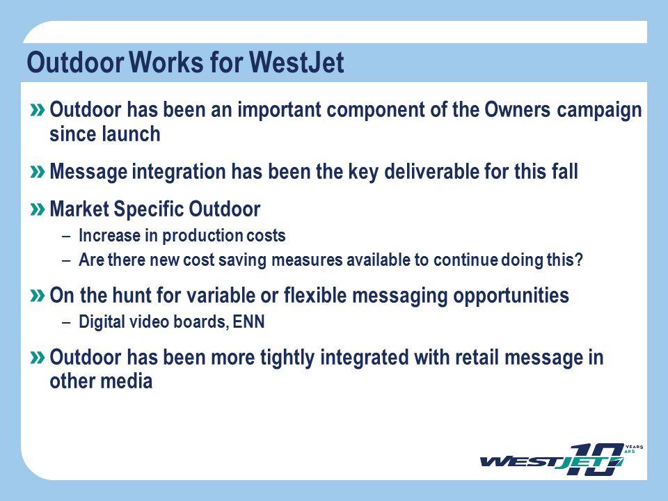 Outdoor Works for WestJet