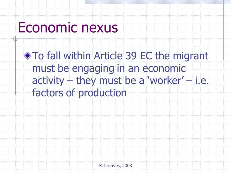 Economic nexus