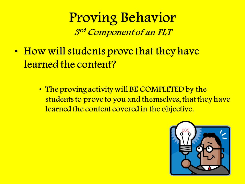 Proving Behavior 3rd Component of an FLT