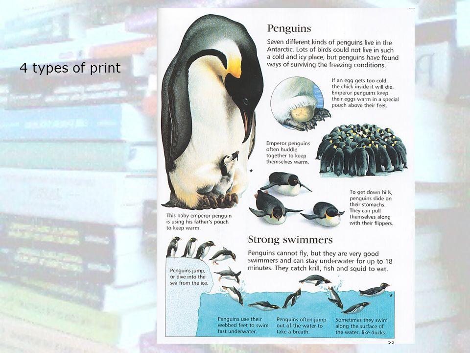 4 types of print