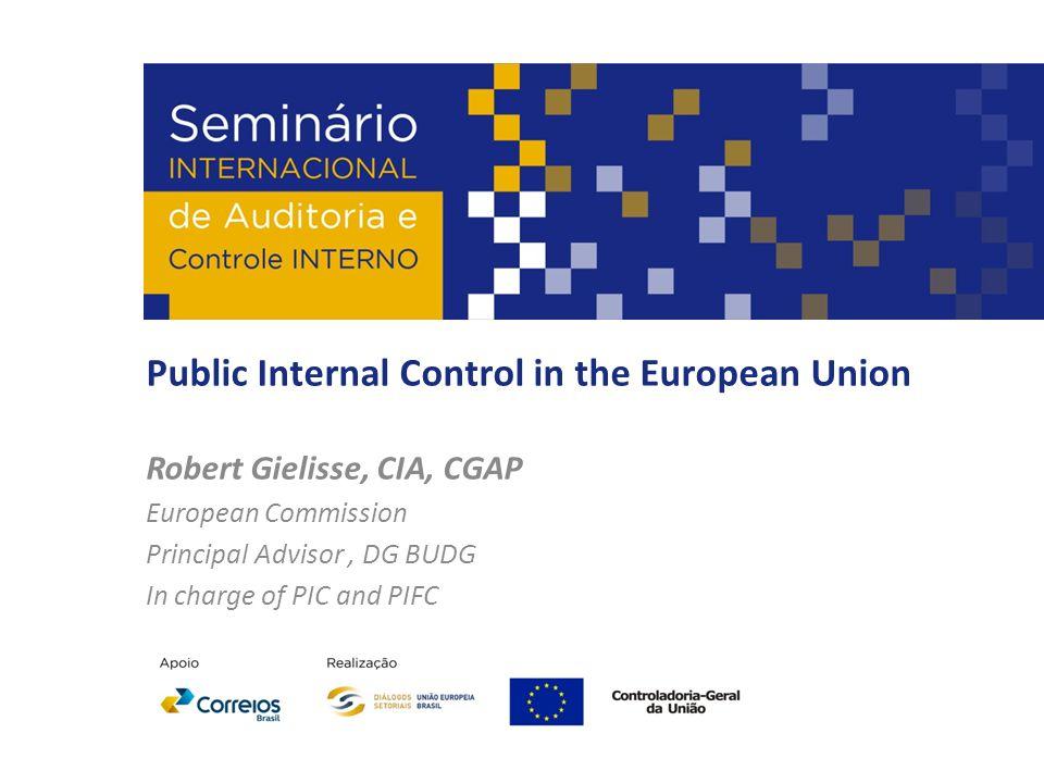 Public Internal Control in the European Union