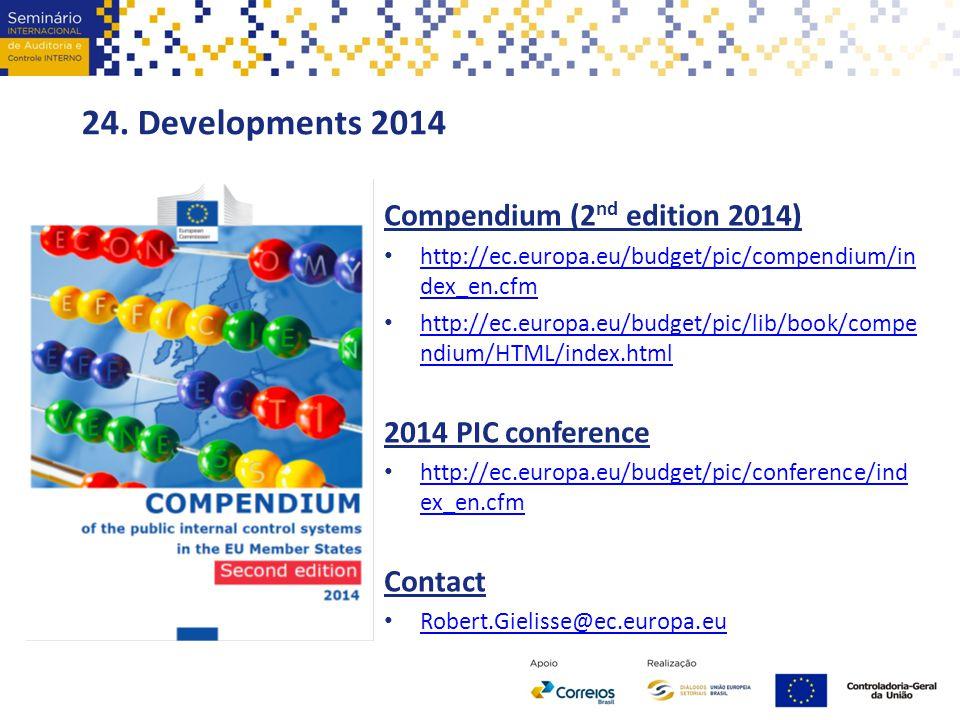 24. Developments 2014 Compendium (2nd edition 2014)