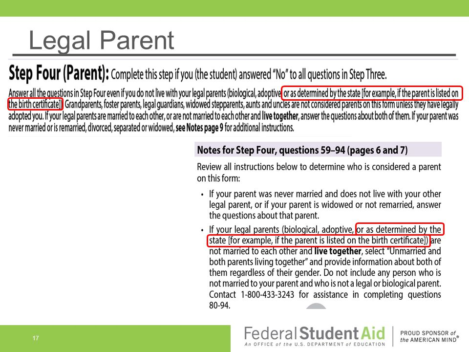 Legal Parent