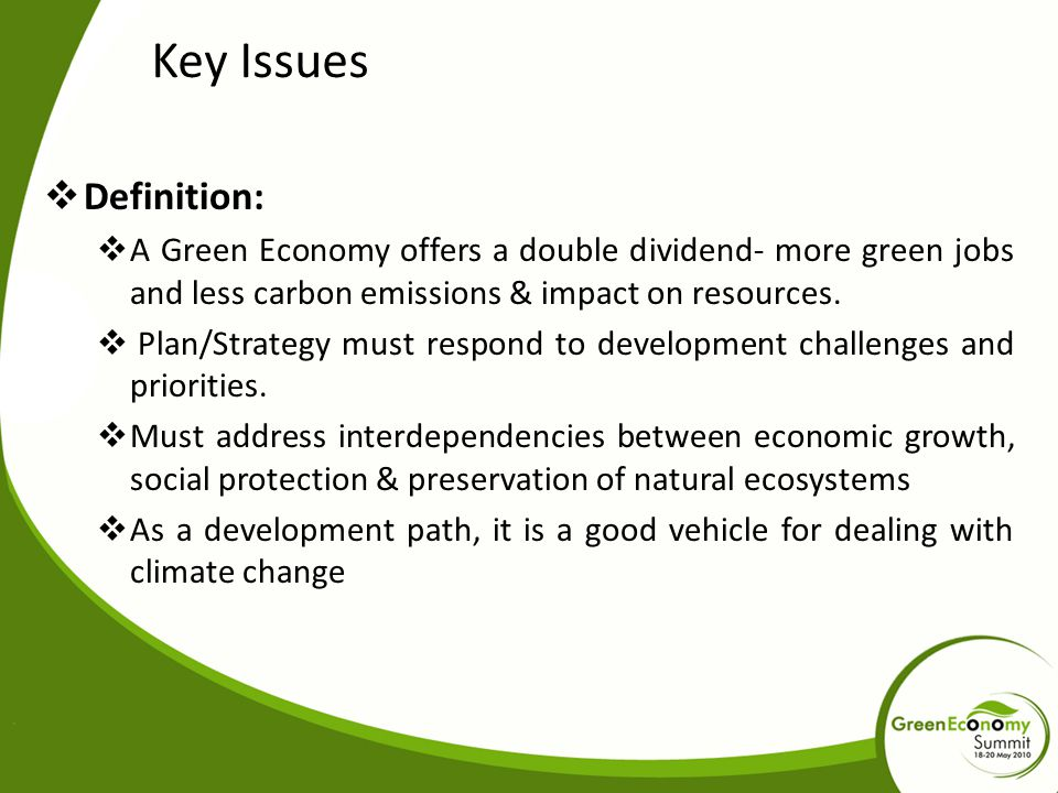 Key Issues Definition: