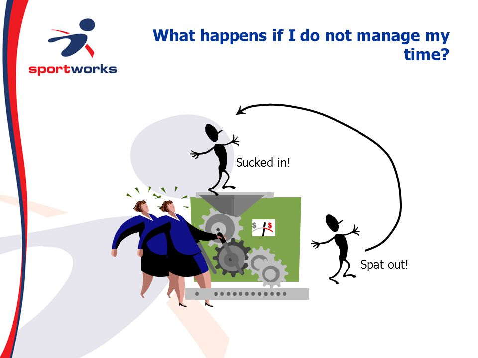 What happens if I do not manage my time