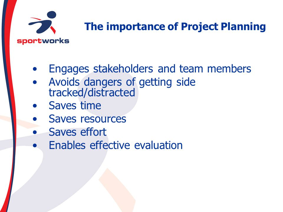 The importance of Project Planning
