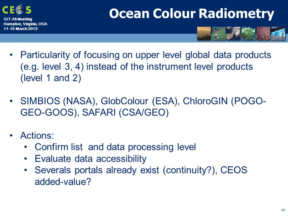 Ocean Colour Radiometry