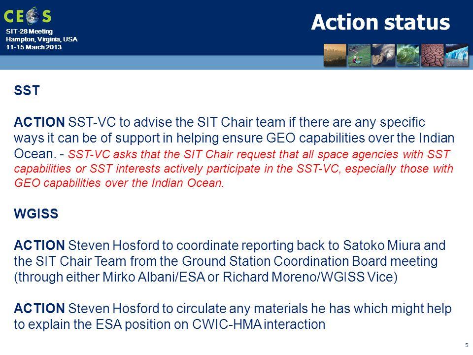 Action status SST.