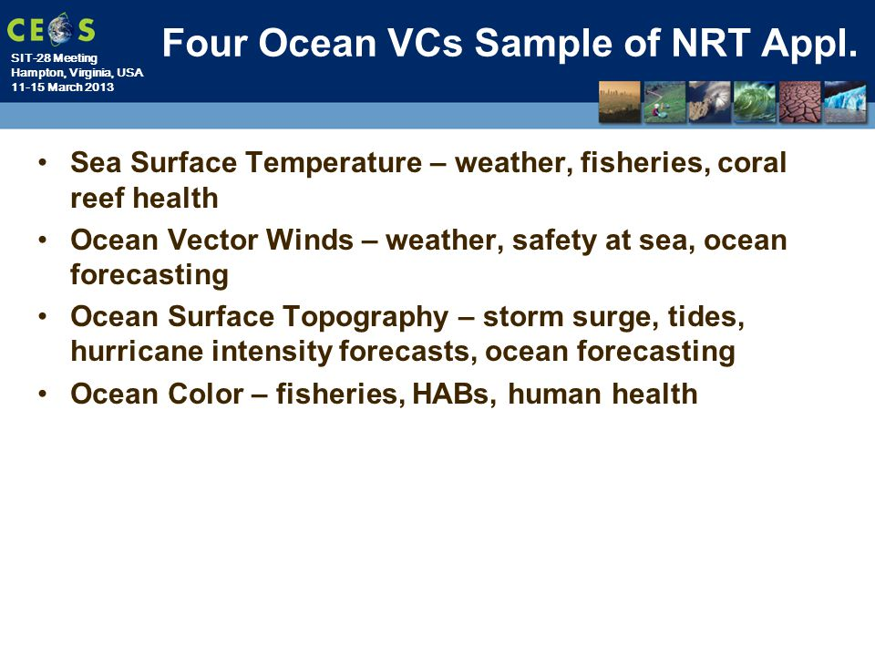 Four Ocean VCs Sample of NRT Appl.