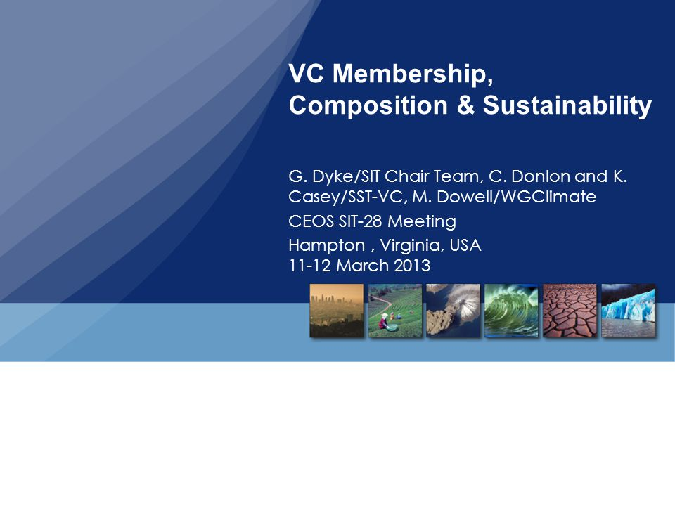 VC Membership, Composition & Sustainability
