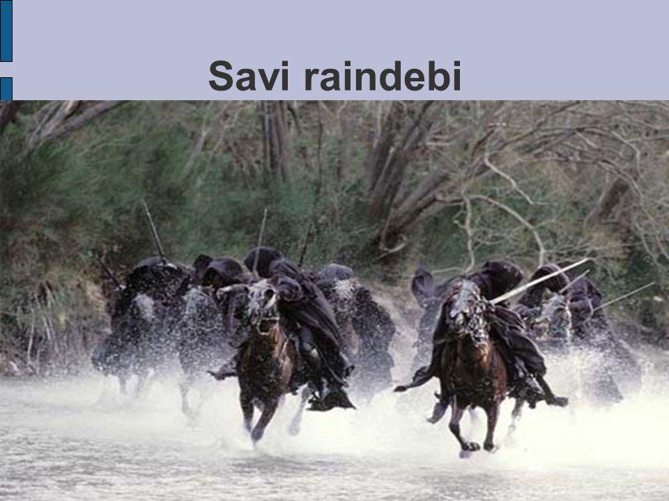 Savi raindebi