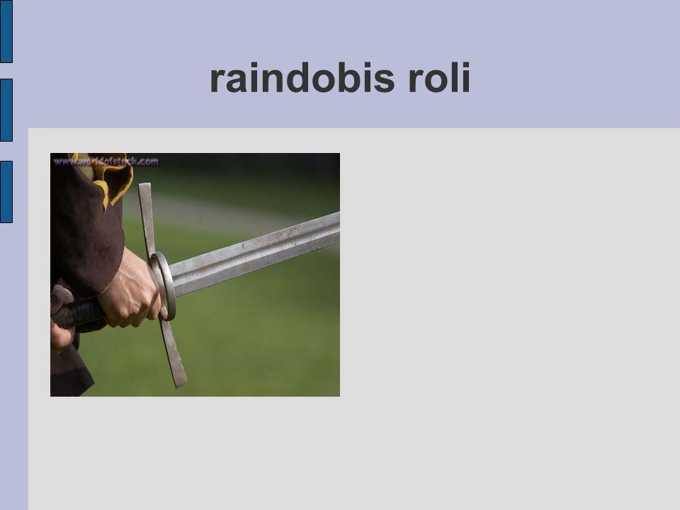raindobis roli