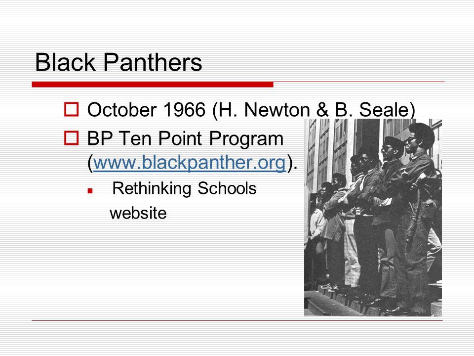 Black Panthers October 1966 (H. Newton & B. Seale)