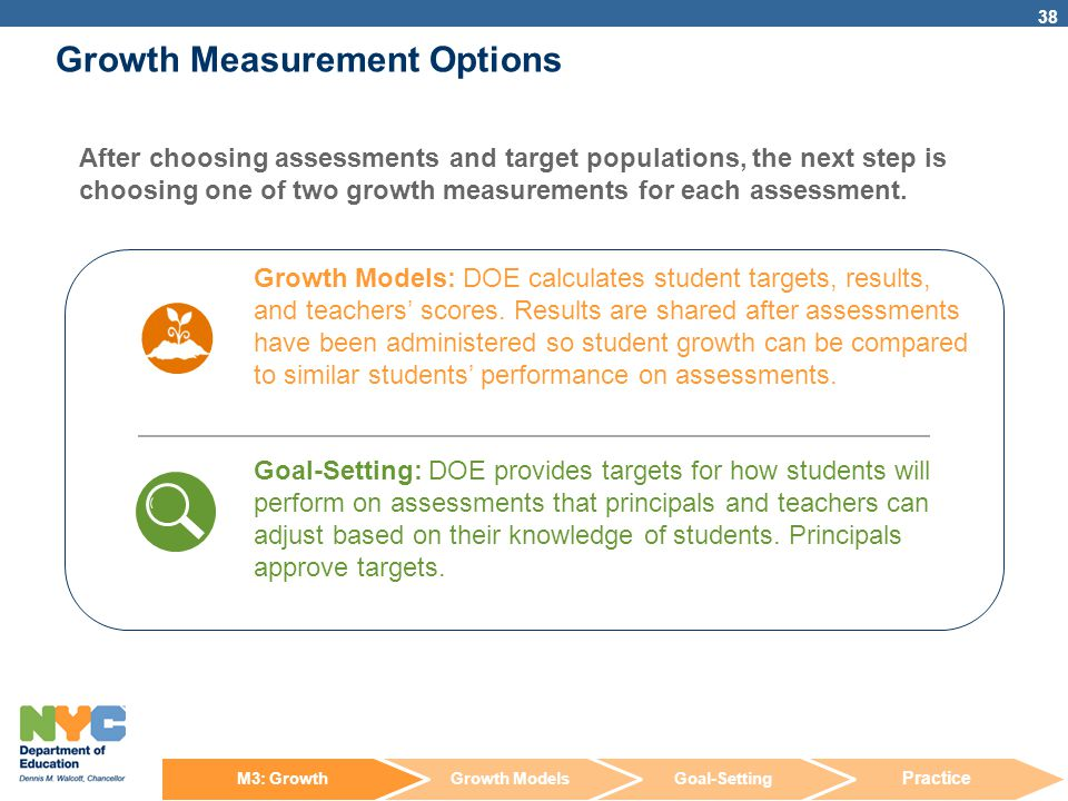 Growth Measurement Options
