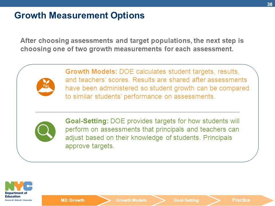 Growth Measurement Options