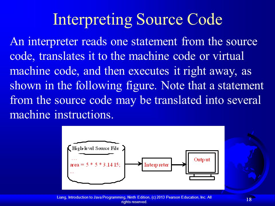 Interpreting Source Code