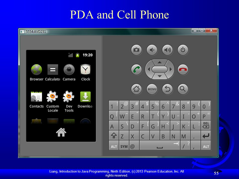 PDA and Cell Phone