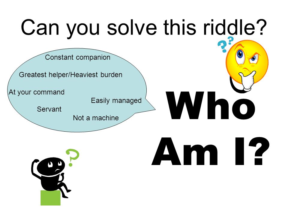 Can you solve this riddle