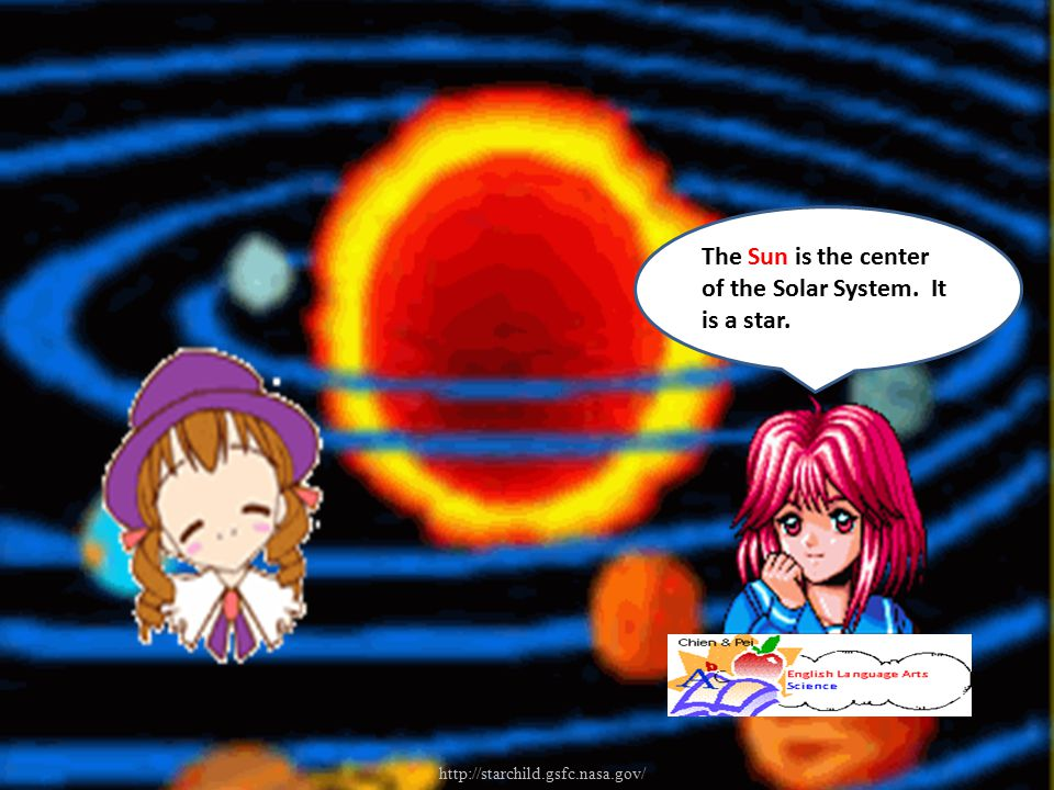 The Sun is the center of the Solar System. It is a star.