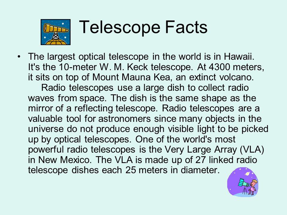 Telescope Facts