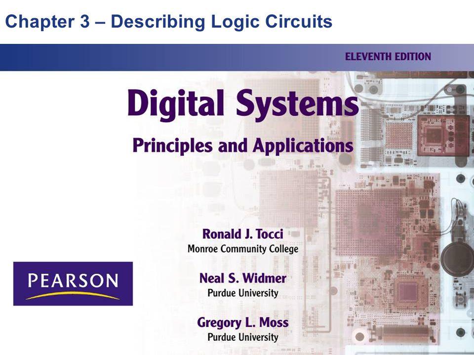 Chapter 3 – Describing Logic Circuits