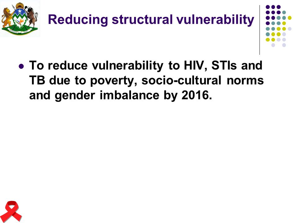Reducing structural vulnerability