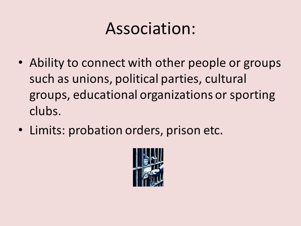 Association: