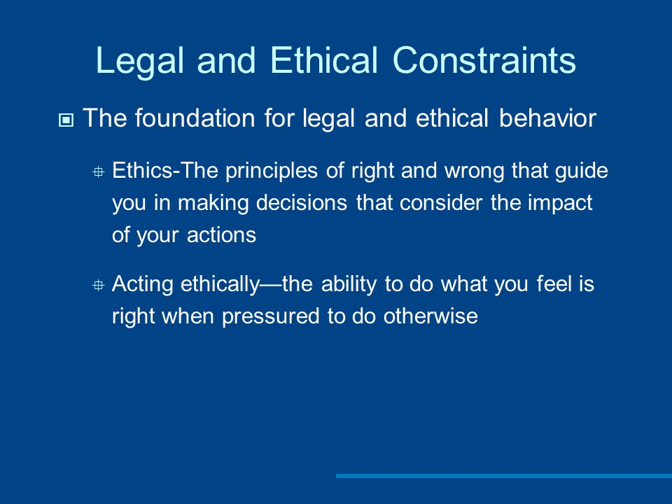 Visual ethics guidelines