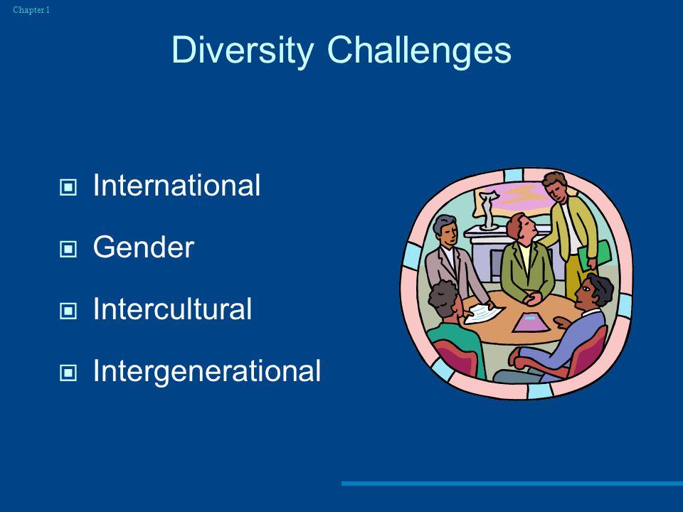 Diversity Challenges International Gender Intercultural