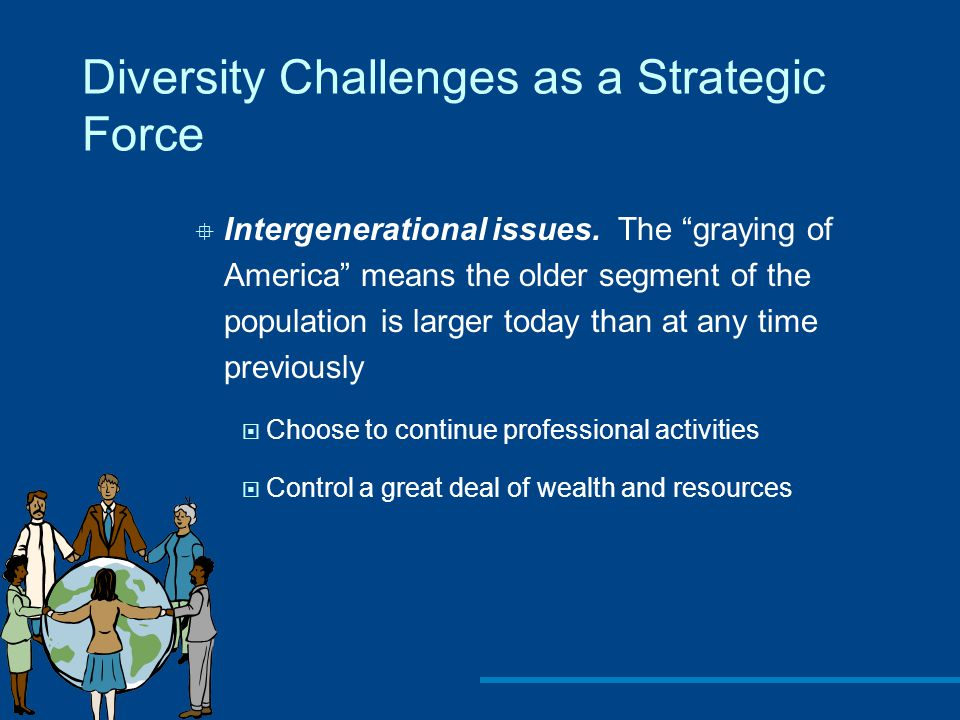 Diversity Challenges as a Strategic Force