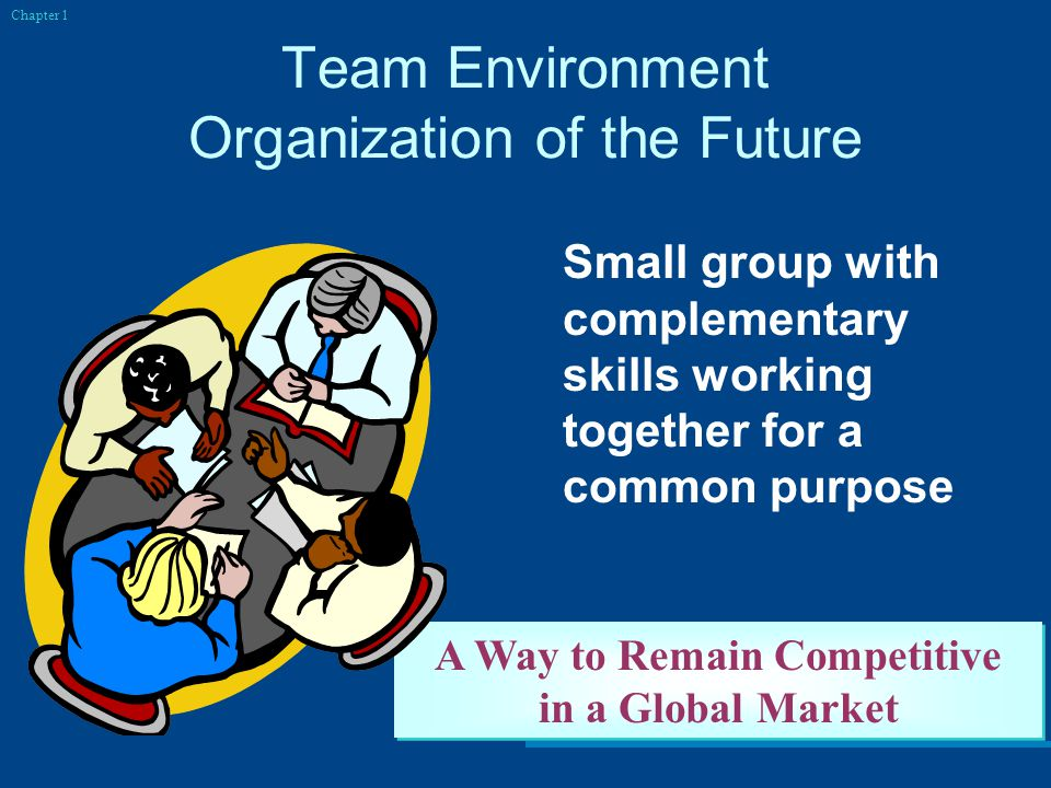 Team Environment Organization of the Future