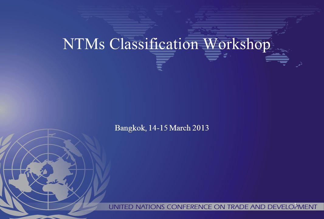 NTMs Classification Workshop