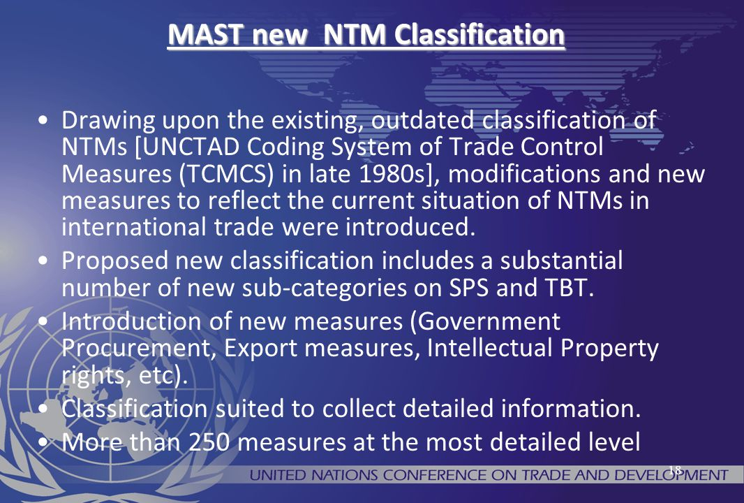 MAST new NTM Classification