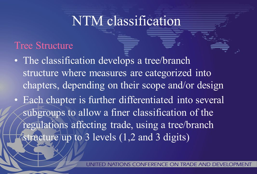 NTM classification Tree Structure