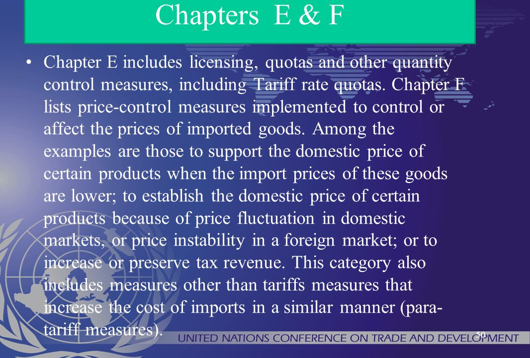 Chapters E & F