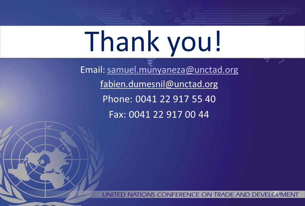 Email: samuel.munyaneza@unctad.org