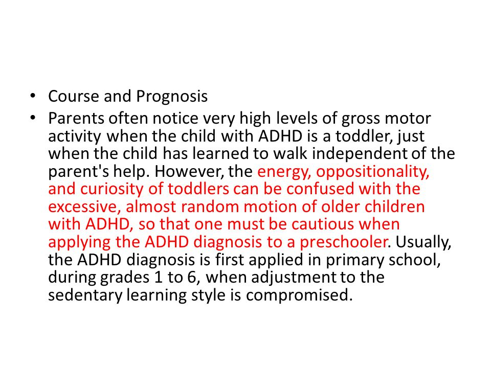 Course and Prognosis
