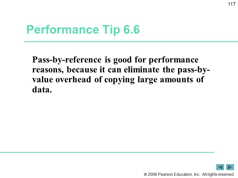 Performance Tip 6.6
