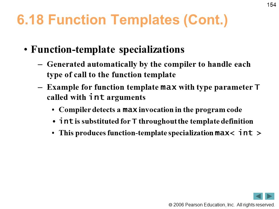 6.18 Function Templates (Cont.)