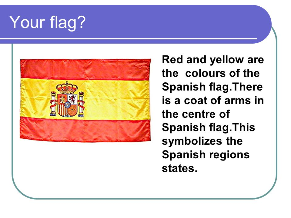 Your flag