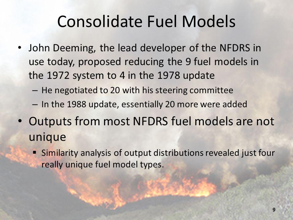 Consolidate Fuel Models