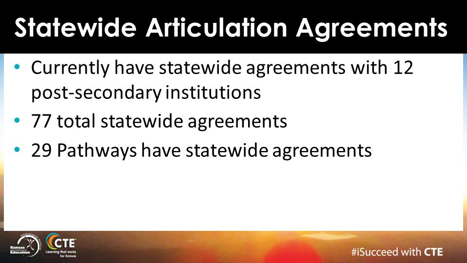 Statewide Articulation Agreements
