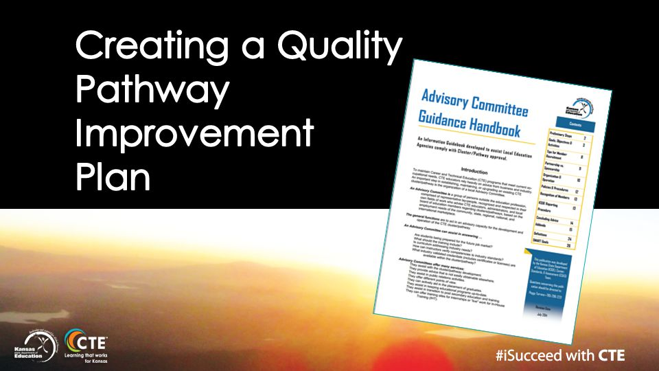 Creating a Quality Pathway Improvement Plan