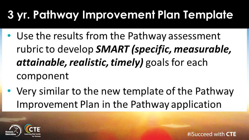 3 yr. Pathway Improvement Plan Template